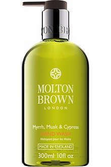 MOLTON BROWN Myrrh Musk & Cypress hand wash 300ml