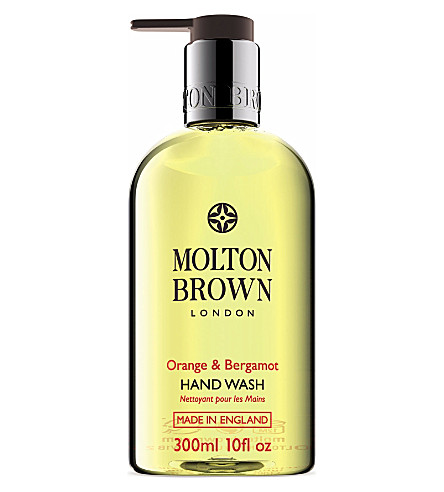 MOLTON BROWN Orange & Bergamot hand wash 300ml