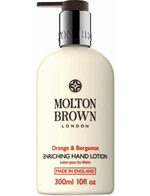 MOLTON BROWN Orange & Bergamot hand lotion 300ml