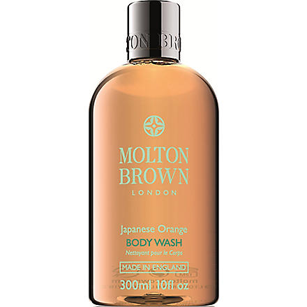 MOLTON BROWN Japanese Orange Body Wash 300ml