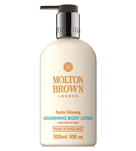 MOLTON BROWN Suma Ginseng Nourishing Body Lotion 300ml
