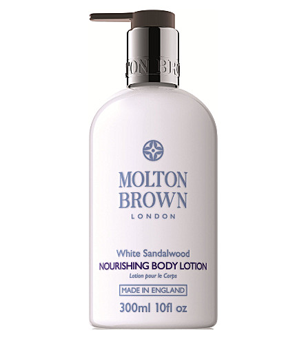 MOLTON BROWN White Sandalwood Nourishing Body Lotion 300ml