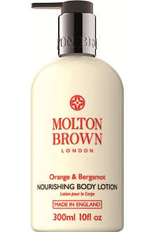 MOLTON BROWN Orange & Bergamot Nourishing Body Lotion 300ml