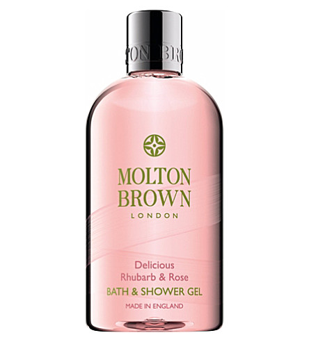 MOLTON BROWN Delicious rhubarb & rose body wash 300ml