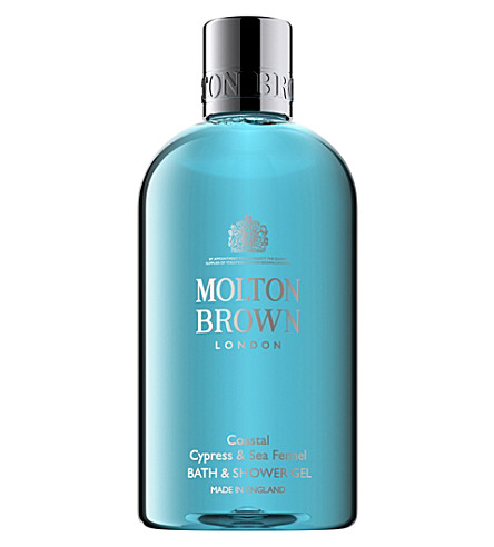 MOLTON BROWN Coastal Cypress & Sea Fennel Bath & Shower Gel 300ml