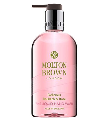 MOLTON BROWN 大黄玫瑰洗手液