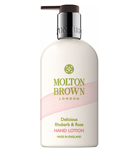 MOLTON BROWN Rhubarb & Rose hand lotion 300ml