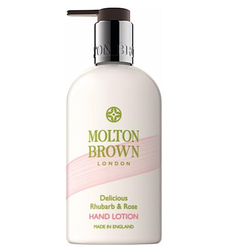 MOLTON BROWN Rhubarb & Rose hand lotion 300ml