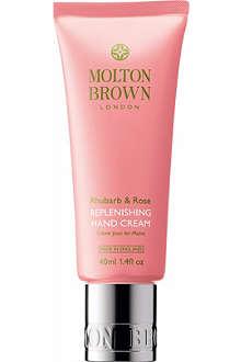 MOLTON BROWN Rhubarb & Rose hand cream 40ml
