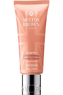 MOLTON BROWN Gingerlily replenishing hand cream 40ml