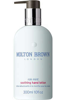 MOLTON BROWN Rok Mint soothing hand lotion 300ml