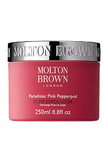 MOLTON BROWN Paradisiac Pink Pepperpod body exfoliator 250ml