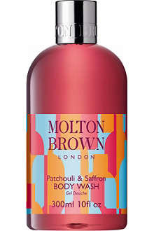 MOLTON BROWN Patchouli and saffron body wash 300ml