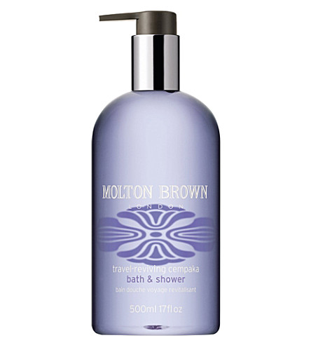 molton brown travel reviving cempaka bath and shower gel molton brown delicious rhubarb and rose bath and shower
