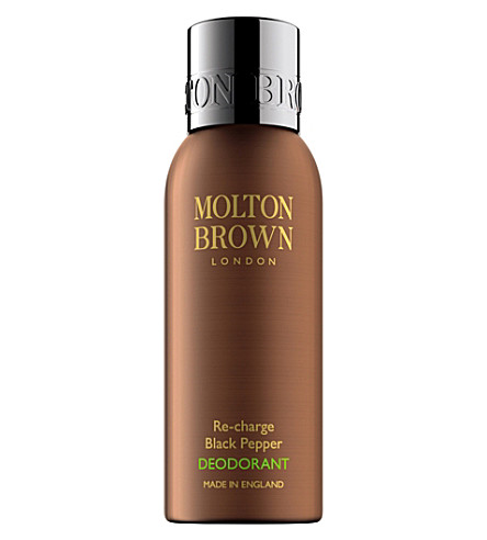 MOLTON BROWN Re-Charge Black Pepper Deodorant Spray 150ml
