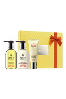 MOLTON BROWN Orange & Bergamot hand care collection