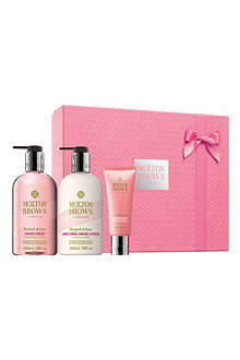 MOLTON BROWN Rhubarb & Rose trio