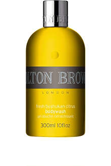 MOLTON BROWN Fresh Bushukan Citrus body wash 300ml