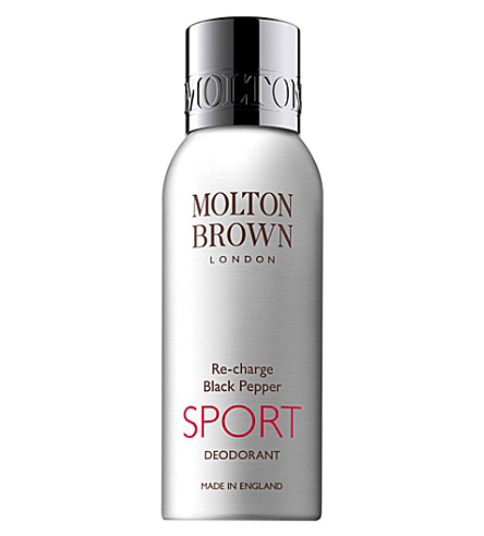 MOLTON BROWN Re-charge black pepper sport deodorant 150ml