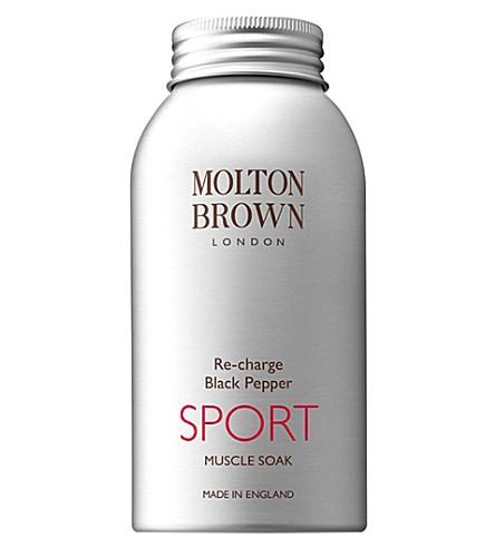 MOLTON BROWN 重装黑胡椒运动肌肉浸泡