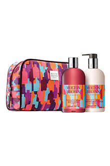 MOLTON BROWN Limited Edition Patchouli & Saffron gift set