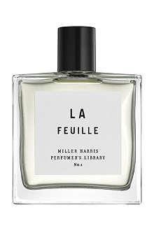 MILLER HARRIS La Feuille eau de parfum 100ml