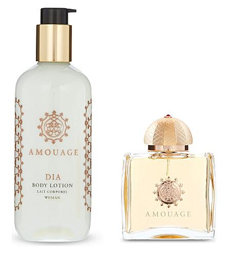 AMOUAGE Dia Woman eau de parfum and body lotion gift set