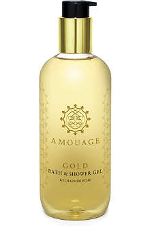 AMOUAGE Gold Woman shower gel 300ml