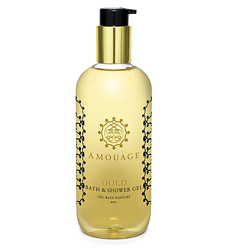 AMOUAGE Gold shower gel 300ml
