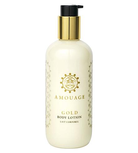 AMOUAGE Gold Woman body lotion 300ml