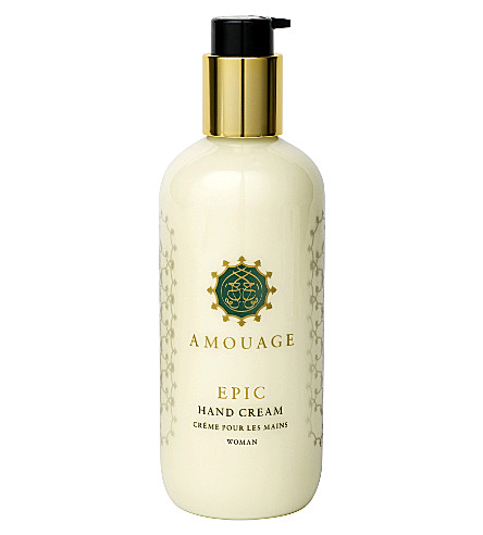 AMOUAGE Epic Woman hand cream 300ml