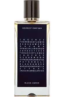 AGONIST Black Amber eau de parfum 50ml