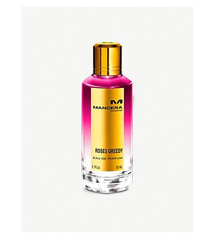 MANCERA Roses Greedy eau de parfum