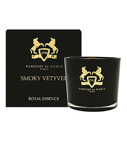 PARFUM DE MARLY Smoky Vetiver candle
