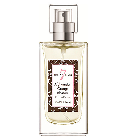 THE 7 VIRTUES Afghanistan Orange Blossom eau de parfum 50ml