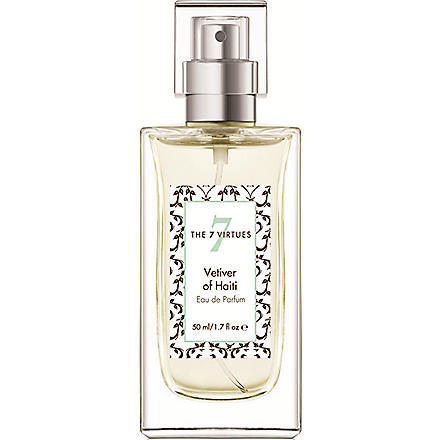 THE 7 VIRTUES Vetiver of Haiti eau de parfum 50ml