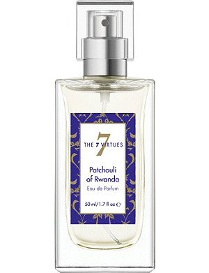 THE 7 VIRTUES Patchouli of Rwanda eau de parfum 50ml
