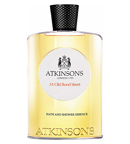 ATKINSONS 24 Old Bond Street shower gel 200ml