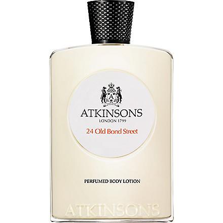 ATKINSONS 24 Old Bond Street body lotion 200ml
