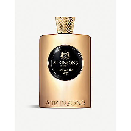 ATKINSONS Oud Save the King eau de parfum 100ml