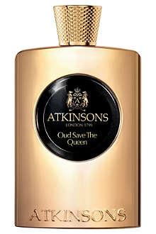 ATKINSONS Oud Save the Queen eau de parfum 100ml