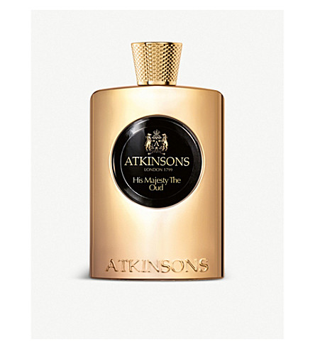 ATKINSONS His Majesty the Oud eau de parfum 100 ml