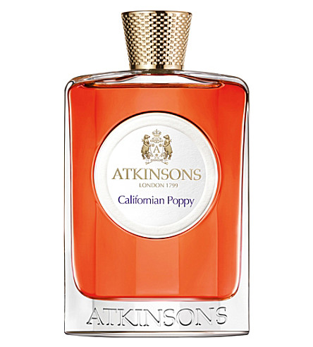ATKINSONS Californian Poppy eau de toilette 100ml