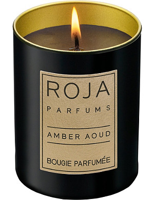 ROJA PARFUMS Amber Aoud small candle