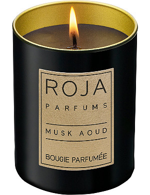 ROJA PARFUMS Musk Aoud small candle
