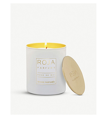 ROJA PARFUMS Rose de Mai small scented candle 220g