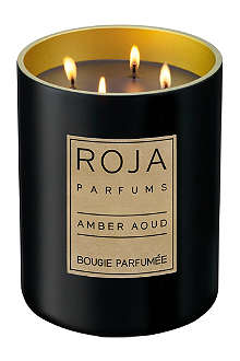 ROJA PARFUMS Amber Aoud large candle
