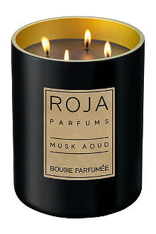ROJA PARFUMS Musk Aoud large candle