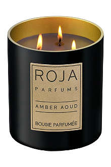 ROJA PARFUMS Amber Aoud medium candle