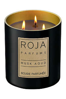ROJA PARFUMS Musk Aoud medium candle